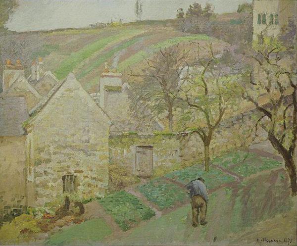 エルミタージュの丘、ポントワーズ(1873年)