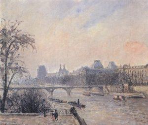 セーヌ川とルーヴル宮殿
