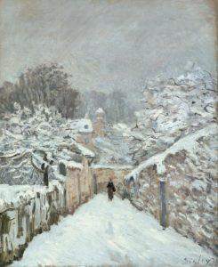 ルーヴシエンヌの雪