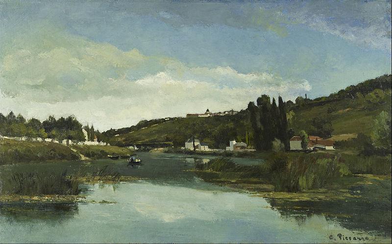 シュヌビエールのマルヌ川