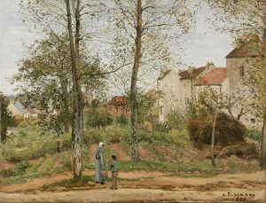 ブージヴァルの家々