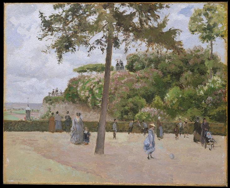 ポントワーズの公開庭園