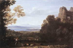 アポロとメルクリウスのいる風景