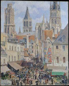 ルーアンの旧市場とエピスリー街