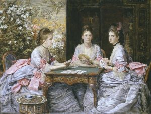 Hearts are Trumps 1872 Sir John Everett Millais, Bt 1829-1896 Presented by the Trustees of the Chantrey Bequest 1945 http://www.tate.org.uk/art/work/N05770