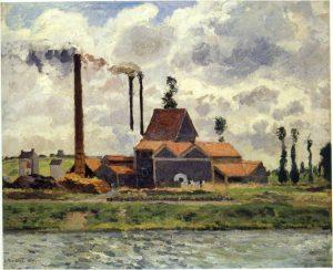ポントワーズの工場