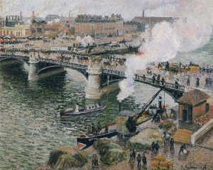 pissarro_-_pont_boieldieu_in_rouen_rainy_weather