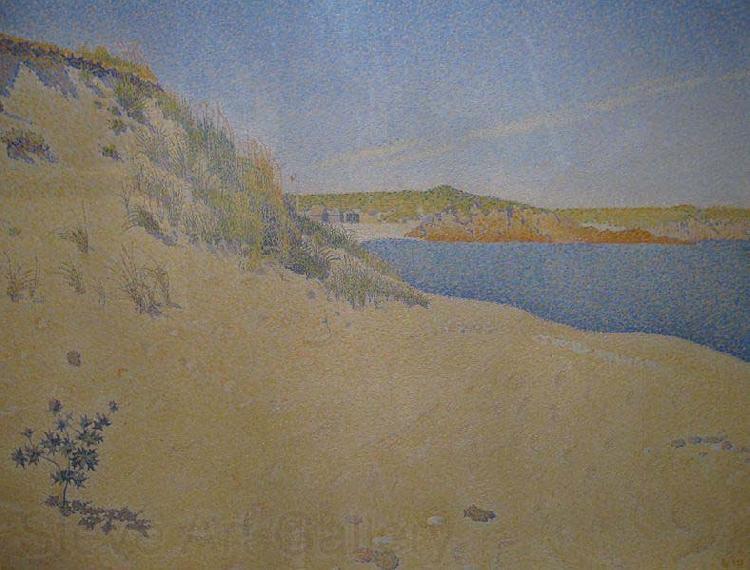 サン=ブリアックの砂浜