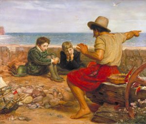 The Boyhood of Raleigh 1870 Sir John Everett Millais, Bt 1829-1896 Presented by Amy, Lady Tate in memory of Sir Henry Tate 1900 http://www.tate.org.uk/art/work/N01691