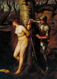 The Knight Errant 1870 Sir John Everett Millais, Bt 1829-1896 Presented by Sir Henry Tate 1894 http://www.tate.org.uk/art/work/N01508