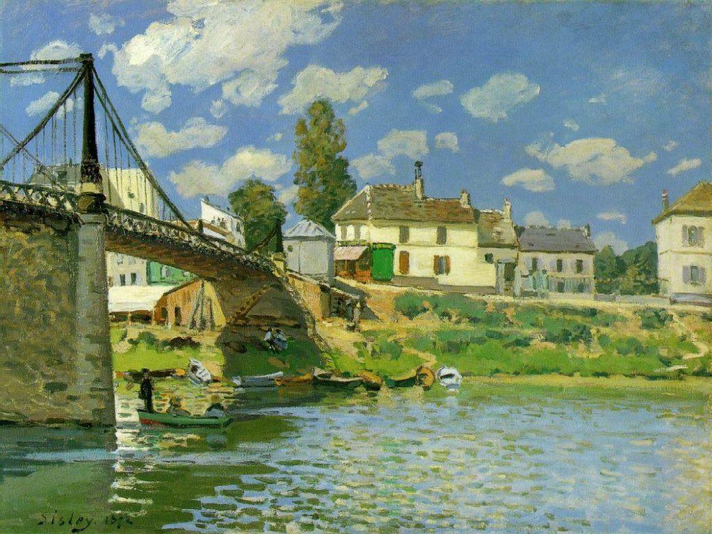 ヴィルヌー・ラ・ガランヌの橋