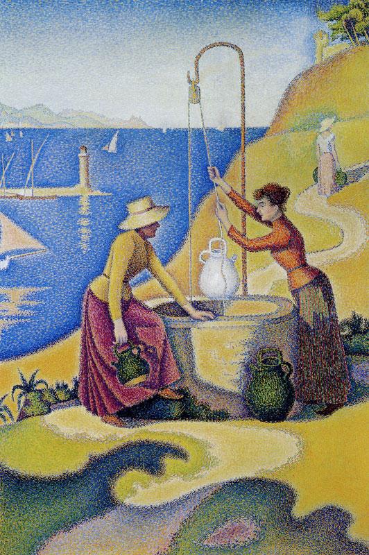 井戸端の女たち(井戸端のプロヴァンス嬢)