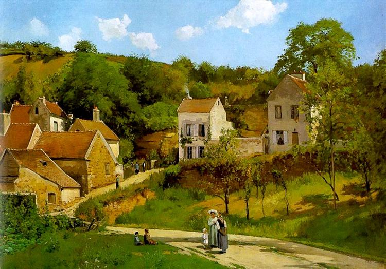 エルミタージュの丘、ポントワーズ(1867年)