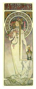 リキュール「ラ・トラピスティーヌ」のためのポスター