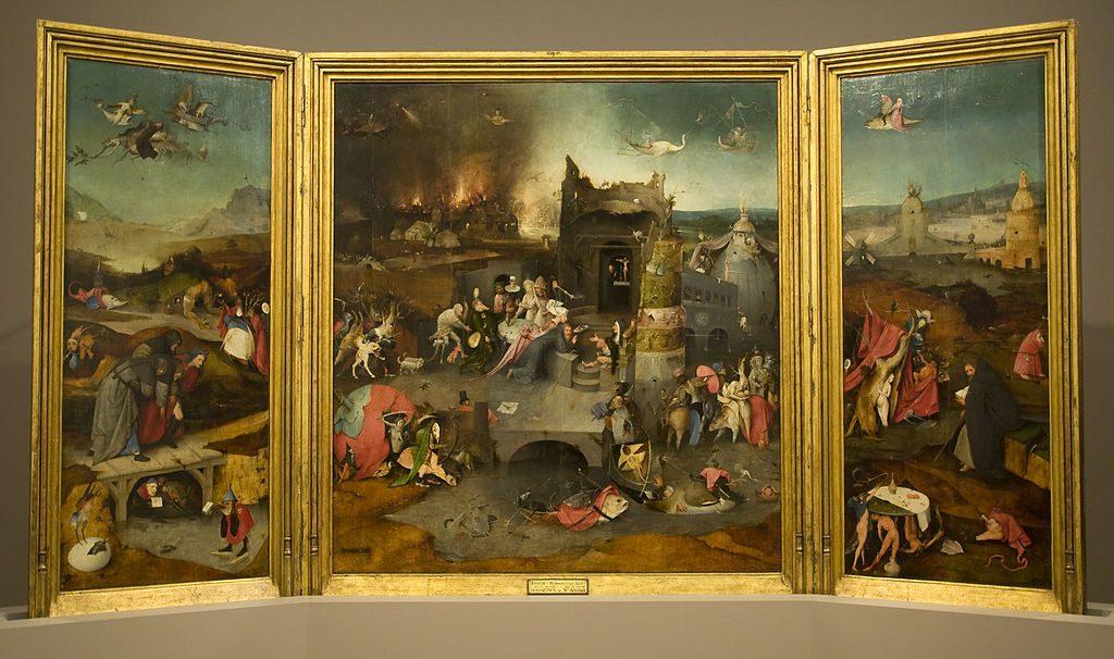聖アントニウスの誘惑の祭壇画