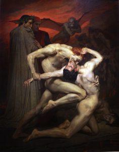地獄のダンテとウェルギリウス