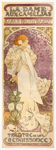 『椿姫』のためのポスター