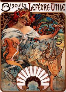 ルフェーブル・ユティル・ビスケットのためのポスター