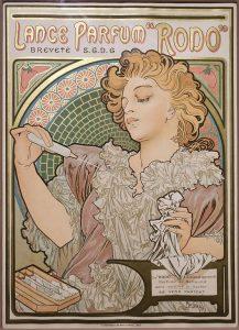 香水「ロド」のためのポスター