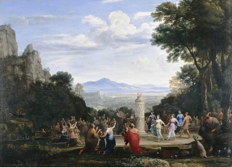 黄金の子牛の礼拝(1660年)