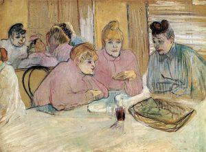 食道の女性達