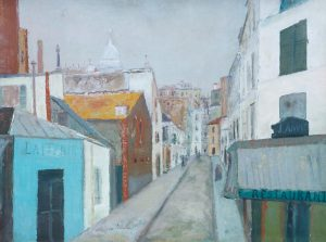 Le Passage Cottin c.1910 Maurice Utrillo 1883-1955 Bequeathed by Montague Shearman through the Contemporary Art Society 1940 http://www.tate.org.uk/art/work/N05143