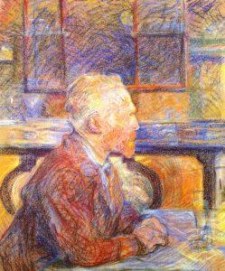 フィンセント・ファン・ゴッホの肖像