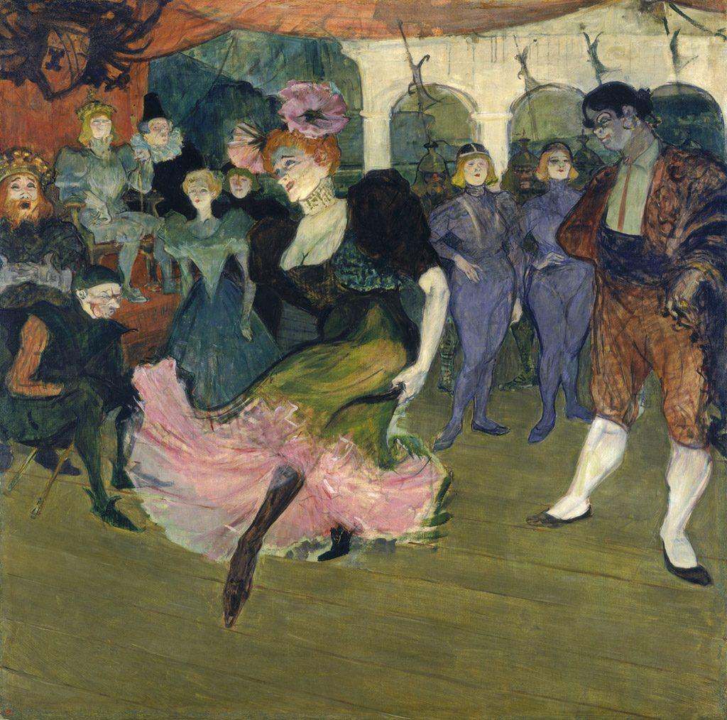 「シルぺリック」のボレロを踊るマルセル・ランデ-ル