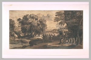 黄金の子牛の礼拝(1653年)