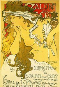 サロン・デ・サン第20回展のためのポスター