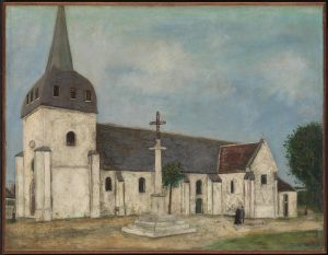 Church at St Hilaire c.1911 Maurice Utrillo 1883-1955 Purchased 1938 http://www.tate.org.uk/art/work/N04943