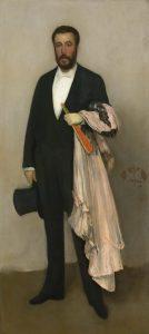 肌色と黒のアレンジメント:テオドール・デュレの肖像