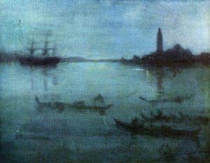 青と銀のノクターン:ヴェネツィアの潟