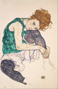 392px-egon_schiele_-_seated_woman_with_legs_drawn_up