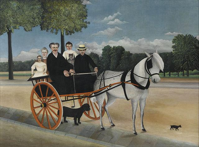 ジュニエ爺さんの馬車