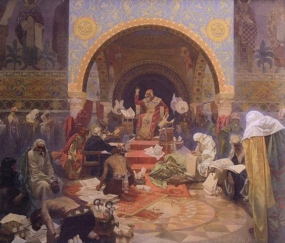 ブルガリア皇帝シメオン:連作スラヴ叙事詩より