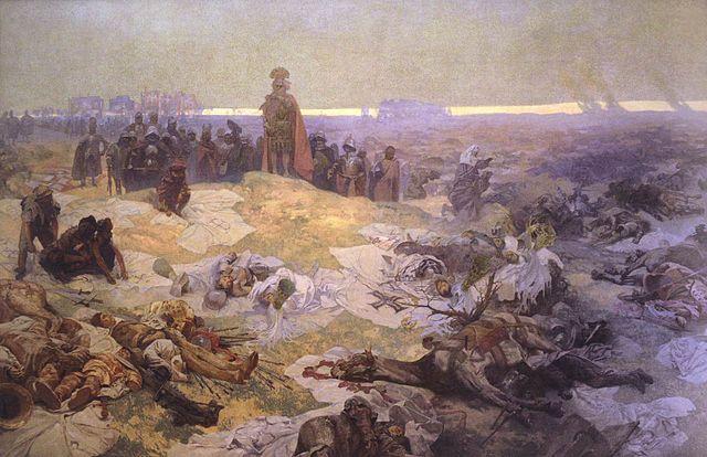 グリュンワルトの戦闘の後:連作スラヴ叙事詩より