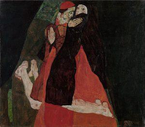 枢機卿と尼僧(愛撫)