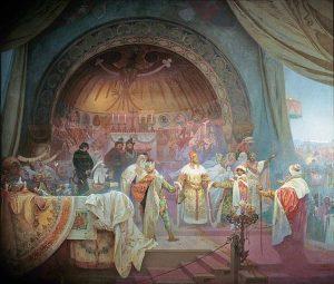 ボヘミア王プシェミスル・オタカル2世:連作スラヴ叙事詩より