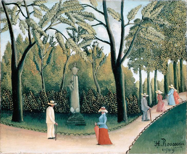 リュクサンブール公園、ショパン記念碑