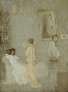 アトリエの画家