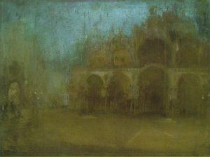 ノクターン:青と金色、サン・マルコ広場、ヴェネツィア