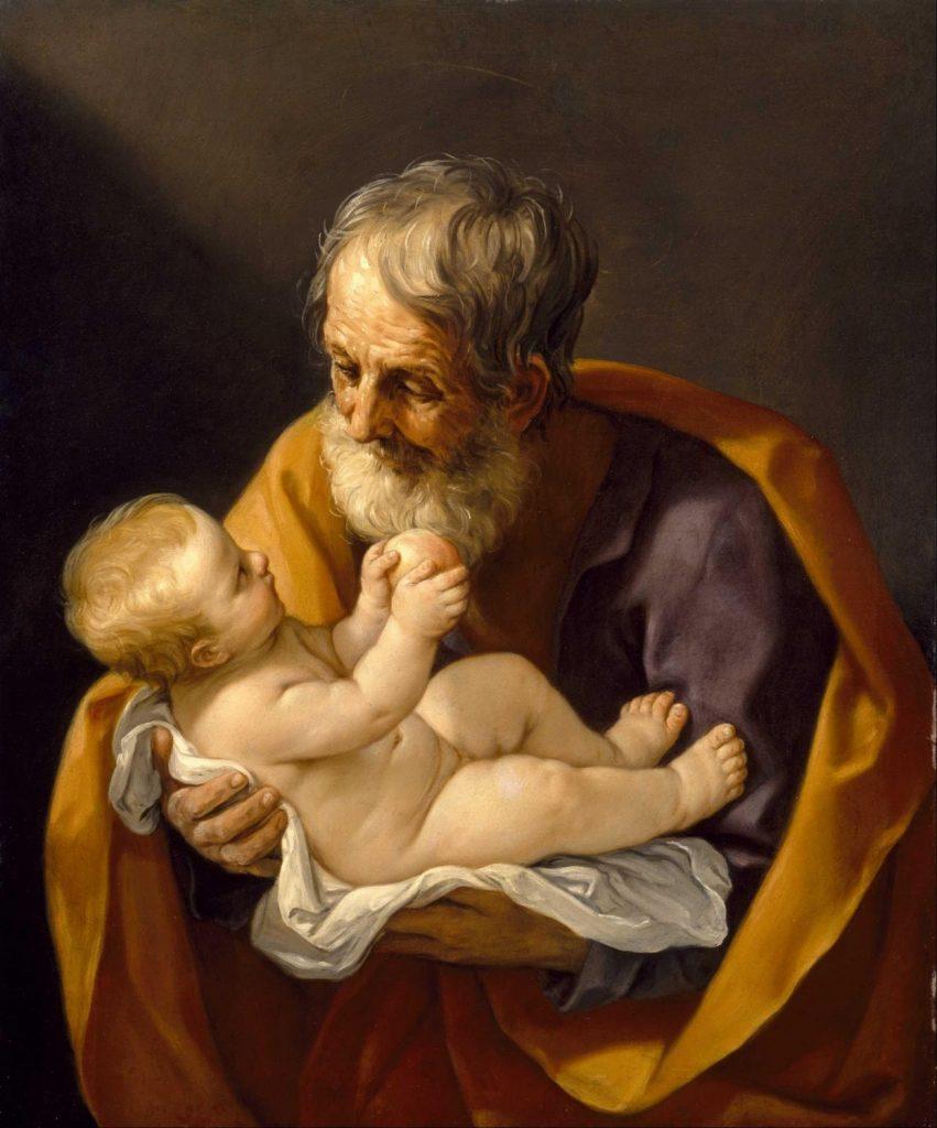 聖ヨセフと幼きキリスト