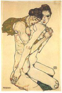 schiele_-_freundschaft_-_1913