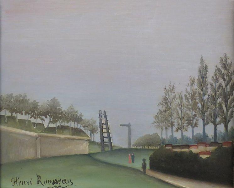 ポルト・ド・ヴァンヴから見た市壁