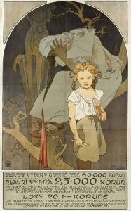 「南西モラヴィア同盟の宝くじ」のためのポスター