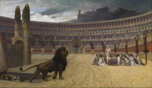 キリスト教殉教者の最後の祈り