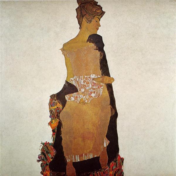 ゲルティ・シーレの肖像