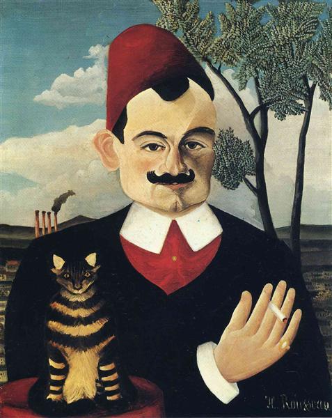 ピエール・ロティの肖像