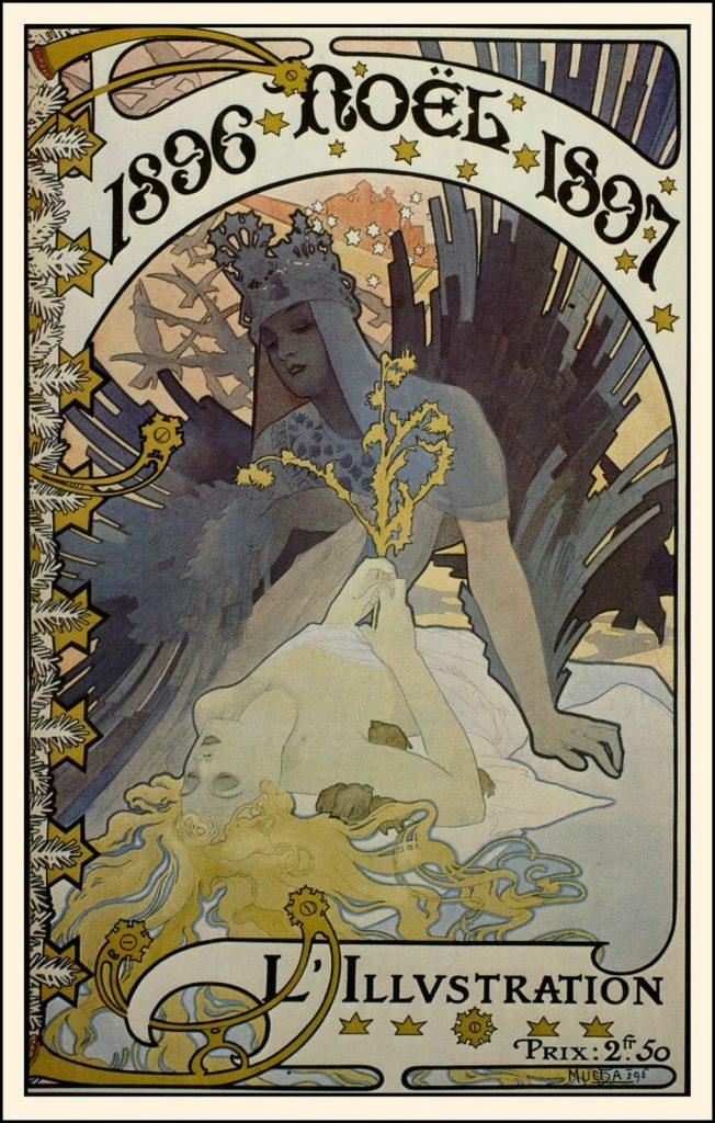 『イリュストラシオン』誌表紙(1896年クリスマス号)